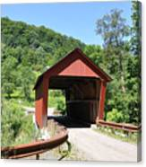 Braley Covered Bridge Canvas Print