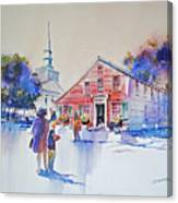 Bramhall's Corner Canvas Print