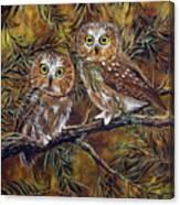 Branch Buddies Canvas Print