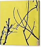 Branching Out Snowscape 3 Canvas Print