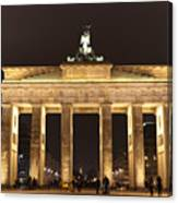 Brandenburg Gate Canvas Print