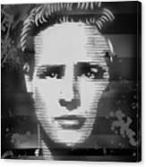 Brando Odyssey Black And White Canvas Print
