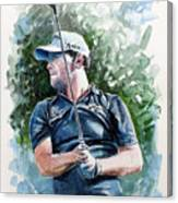 Branden Grace Watercolor Canvas Print