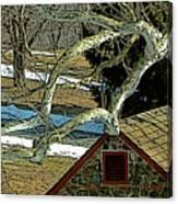 Brandywine Springhouse Canvas Print