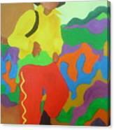 Brasil Boy Canvas Print