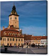 Brasov Council Square Canvas Print