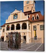 Brasov Town Hall Canvas Print