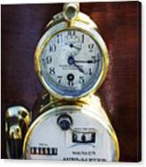 Brass Auto-meter Speedometer Canvas Print