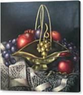 Brass Basket Canvas Print
