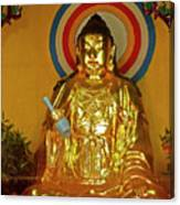 Brass Buddha Emei Canvas Print