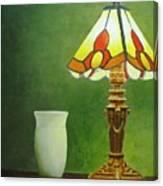 Brass Lampshade Canvas Print