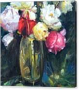 Brass Vase Canvas Print