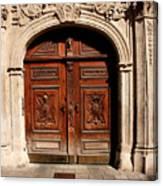 Bratislava Doors Canvas Print