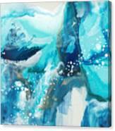 Brave Depths Canvas Print