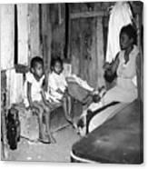 Brazil: Favela, 20th Century Canvas Print