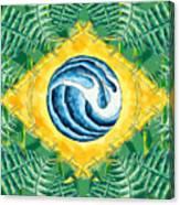 Brazil Wave 01 Canvas Print