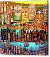 Brazilian Masks Canvas Print