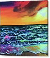 Brazilian Sunset Canvas Print