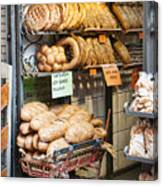 Breads For Sale Canvas Print