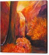 Break Of Dawn Canvas Print