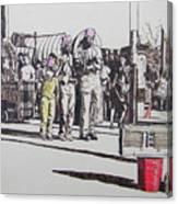 Breakdance San Francisco Canvas Print