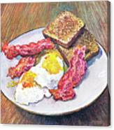 Breakfast Is Served Canvas Print