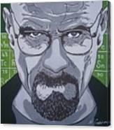 Breaking Bad, Walter White Canvas Print