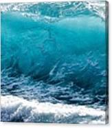 Breaking Wave At Kekaha Beach Canvas Print