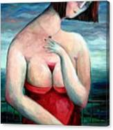 Breast Wine Canvas Print