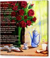Breath Of Rose Canvas Print