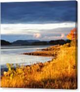 Breathing The Autumn Air Canvas Print