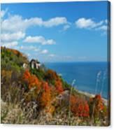 Breathtaking Bluffs _ Scarborough Bluffs Canvas Print