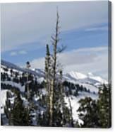 Breckenridge Resort In Summit County Colorado Canvas Print