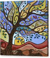 Breeze Among The Branches Canvas Print