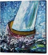 Breeze On Sails -2  Canvas Print