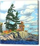 Breezy Day Georgian Bay Canvas Print