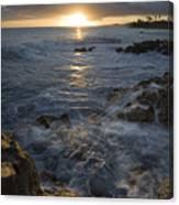 Brenneke Sunset Canvas Print