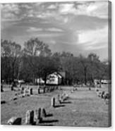Brentway-cemetery Canvas Print