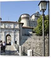 Brescia Castle Canvas Print