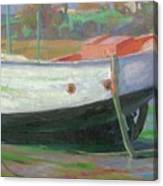 Breton Fisherboat At Paimpol  Bretagne   Canvas Print
