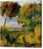 Breton Landscape Trees And Moor 1892 Canvas Print