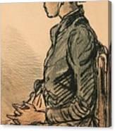Bretonne Assise Canvas Print
