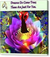 Brian Exton Sacred Flower Of Love  Bigstock 164301632  2991949  12779828 Canvas Print