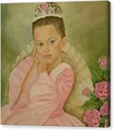 Brianna - The Princess Canvas Print