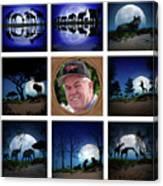 Brian's Collage 2 Canvas Print