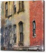 Brick Alley Canvas Print