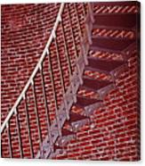 Brick And Stairs Canvas Print