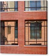 Brick Building Canvas Print