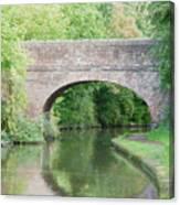 Brick Canal Bridge  Canvas Print