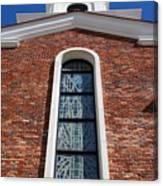 Brick Church Canvas Print